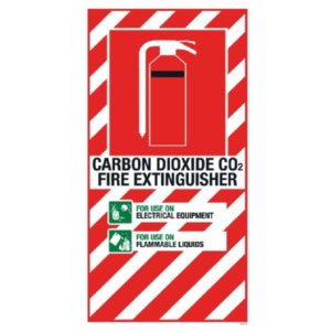 CO2 Blazon 210 x 410mm PVC