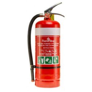 Unbranded Portable Extinguisher ABE Powder 4.5KG (G4.5ABE)